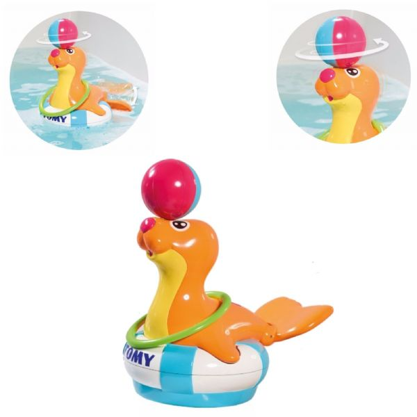 Tomy  Toomies Sandy The Sea Lion Baby Infant Bath Toy 12M+